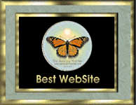 Butterfly Best of Web Award